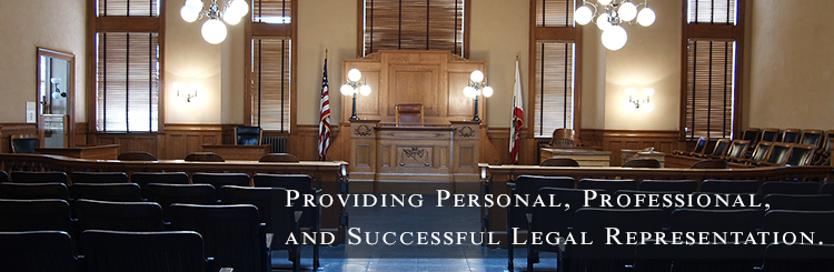 Personal, Professional, Affordable Legal Representation