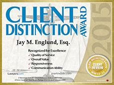 Client Distinction Award, Martindale-Hubbell
